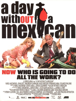 A Day Without a Mexican - poster (thumbnail)