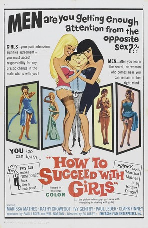 How to Succeed with Girls - Movie Poster (thumbnail)