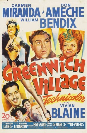 Greenwich Village - Movie Poster (thumbnail)