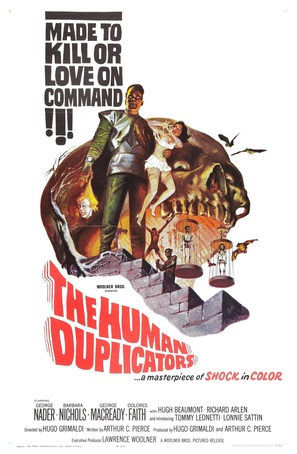 The Human Duplicators - Movie Poster (thumbnail)