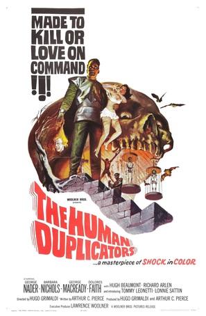 The Human Duplicators - Movie Poster (thumbnail)