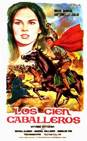 Cento cavalieri, I - Spanish Movie Poster (thumbnail)