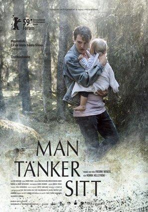 Man tänker sitt - Swedish Movie Poster (thumbnail)
