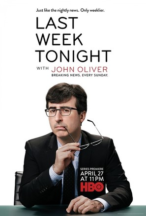 """Last Week Tonight with John Oliver"" - Movie Poster (thumbnail)"