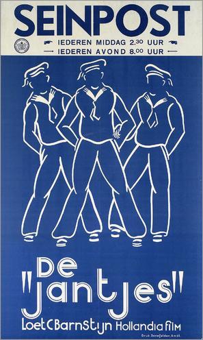 De jantjes - Dutch Movie Poster (thumbnail)