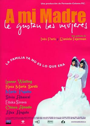 A mi madre le gustan las mujeres - Spanish poster (thumbnail)