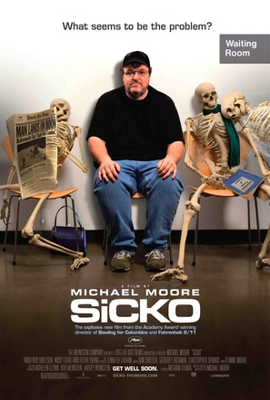 Sicko - Movie Poster (thumbnail)