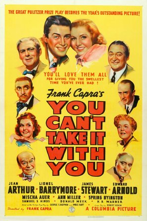 You Can't Take It with You - Movie Poster (thumbnail)