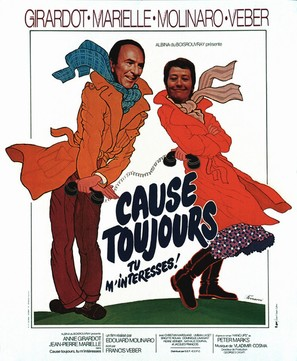 Cause toujours... tu m'intéresses! - French Movie Poster (thumbnail)