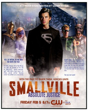 Smallville: Absolute Justice - Movie Poster (thumbnail)