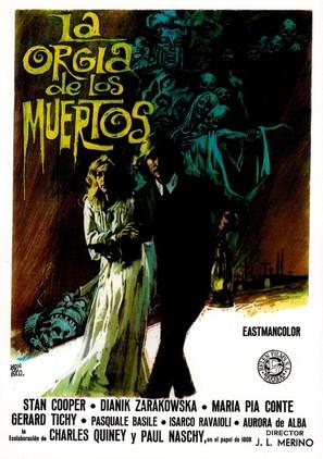 La orgía de los muertos - Spanish Movie Poster (thumbnail)