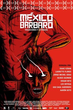 México Bárbaro - Mexican Movie Poster (thumbnail)