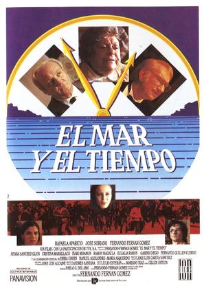 El mar y el tiempo - Spanish Movie Poster (thumbnail)