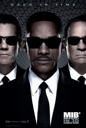 Men in Black 3 - Movie Poster (thumbnail)