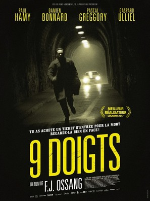 9 doigts - French Movie Poster (thumbnail)