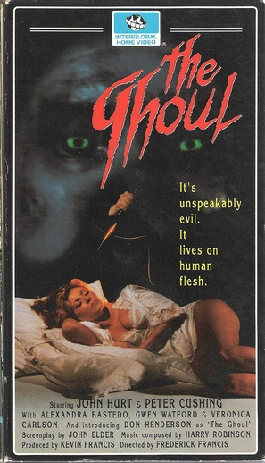 The Ghoul - VHS movie cover (thumbnail)