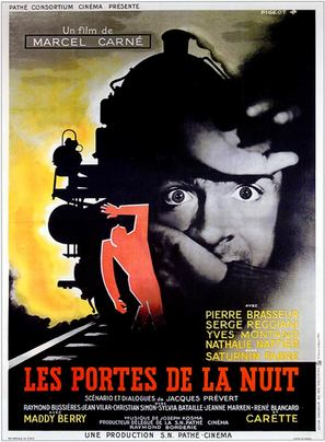 Portes de la nuit, Les - French Movie Poster (thumbnail)
