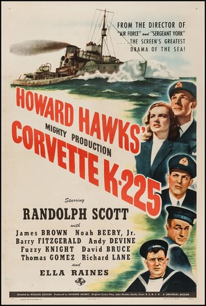 Corvette K-225 - Movie Poster (thumbnail)