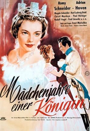 Mädchenjahre einer Königin - German Movie Poster (thumbnail)