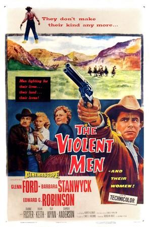 The Violent Men - Movie Poster (thumbnail)