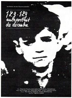 JLG/JLG - autoportrait de décembre - French Movie Poster (thumbnail)