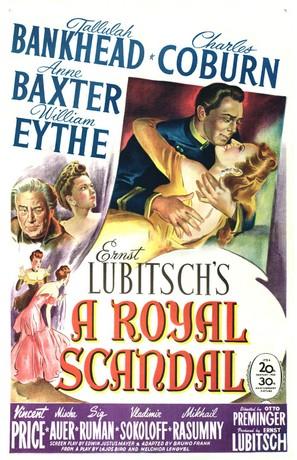 A Royal Scandal - Movie Poster (thumbnail)