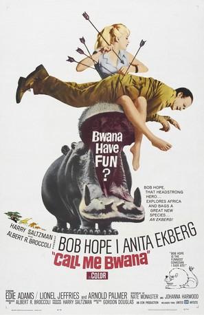 Call Me Bwana - Movie Poster (thumbnail)