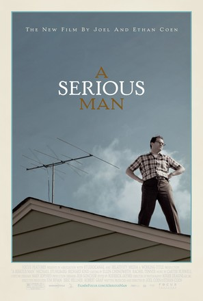 A Serious Man - Movie Poster (thumbnail)