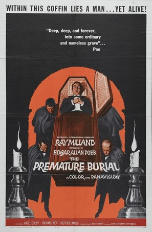 Premature Burial - Movie Poster (thumbnail)