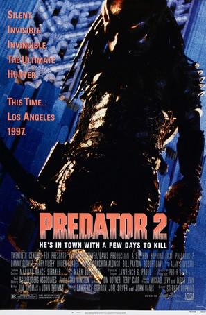 Predator 2 - Movie Poster (thumbnail)