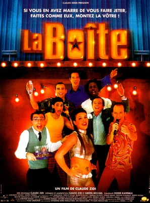 La boîte - French Movie Poster (thumbnail)