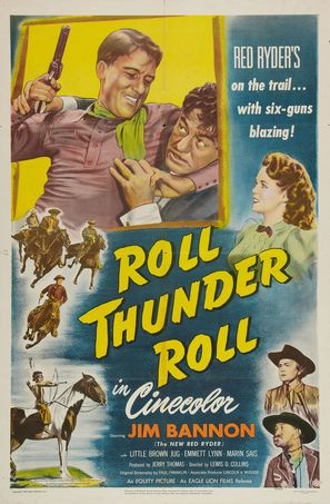 Roll, Thunder, Roll! - Movie Poster (thumbnail)