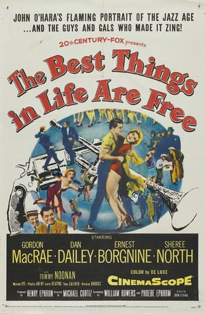 The Best Things in Life Are Free - Movie Poster (thumbnail)