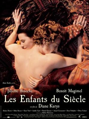 Les enfants du siècle - French Movie Poster (thumbnail)
