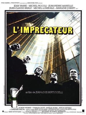 L'imprécateur - French Movie Poster (thumbnail)