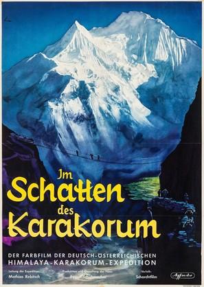 Im Schatten des Karakorum - German Movie Poster (thumbnail)
