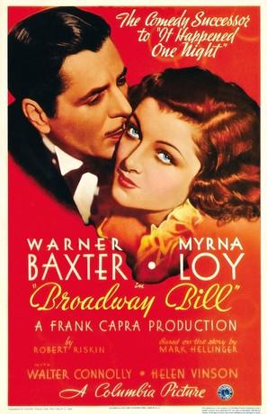 Broadway Bill - Movie Poster (thumbnail)