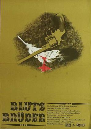 Blutsbrüder - German Movie Poster (thumbnail)