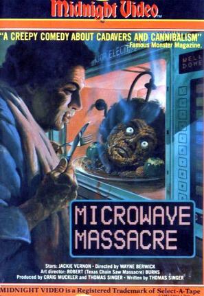 Microwave Massacre - VHS cover (thumbnail)
