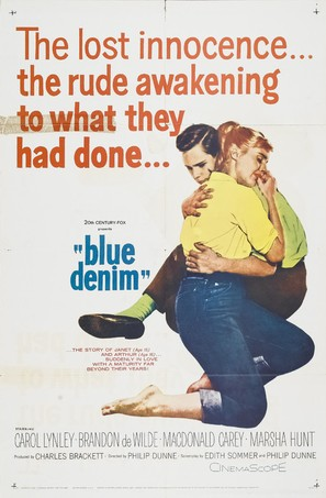 Blue Denim - Movie Poster (thumbnail)