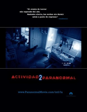 Paranormal Activity 2 - Colombian Movie Poster (thumbnail)