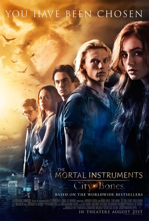 The Mortal Instruments: City of Bones - Movie Poster (thumbnail)