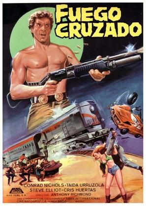 Rage - Spanish Movie Poster (thumbnail)
