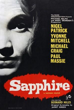Sapphire - British Movie Poster (thumbnail)