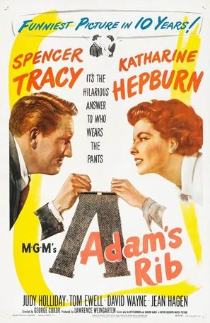 Adam's Rib - Movie Poster (thumbnail)
