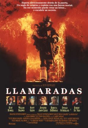 Backdraft - Spanish Movie Poster (thumbnail)
