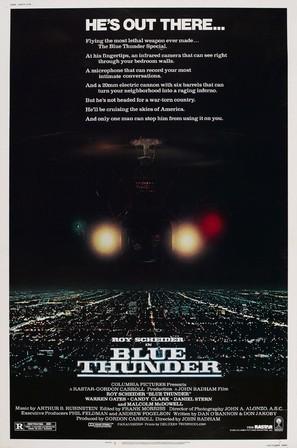 Blue Thunder - Movie Poster (thumbnail)