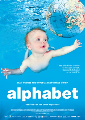 Alphabet - German Movie Poster (thumbnail)