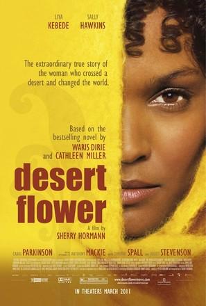 Desert Flower - Movie Poster (thumbnail)