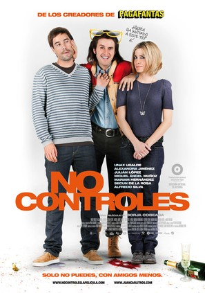 No controles - Spanish Movie Poster (thumbnail)